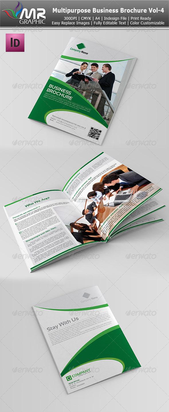 Multipurpose Business Brochure Vol-4 - Corporate Brochures