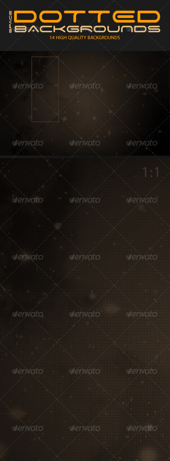 Dotted Space Backgrounds - Abstract Backgrounds