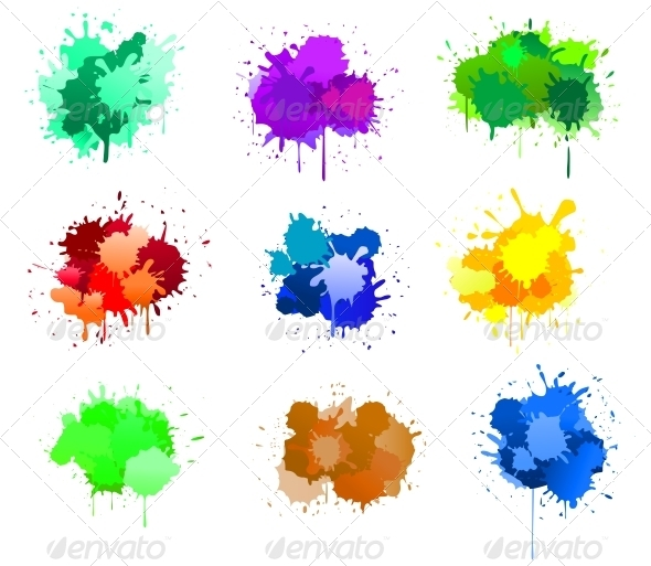 Ink Blots - Miscellaneous Vectors