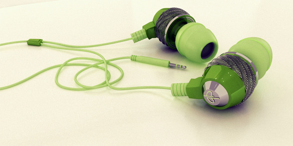 Stylish Realistic  Headphones  - 3DOcean Item for Sale
