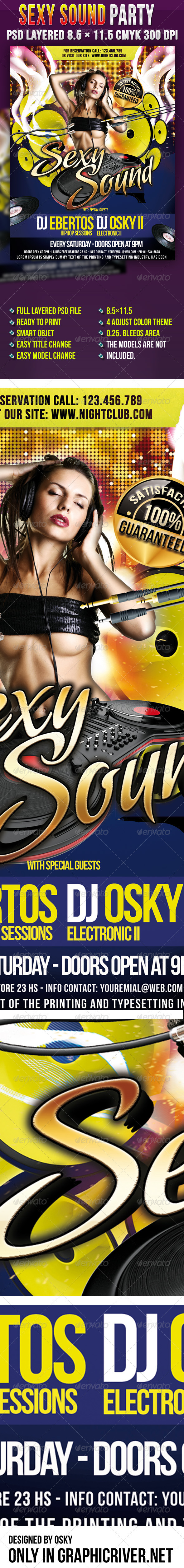 Sexy Sound Party - Clubs & Parties Events