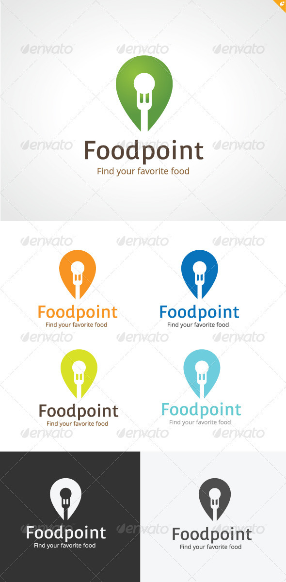 Foodpoint Logo - Objects Logo Templates