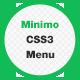 Minimo - CSS3 Menu - CodeCanyon Item for Sale
