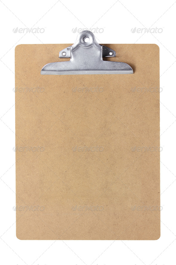 Clipboard - Stock Photo - Images