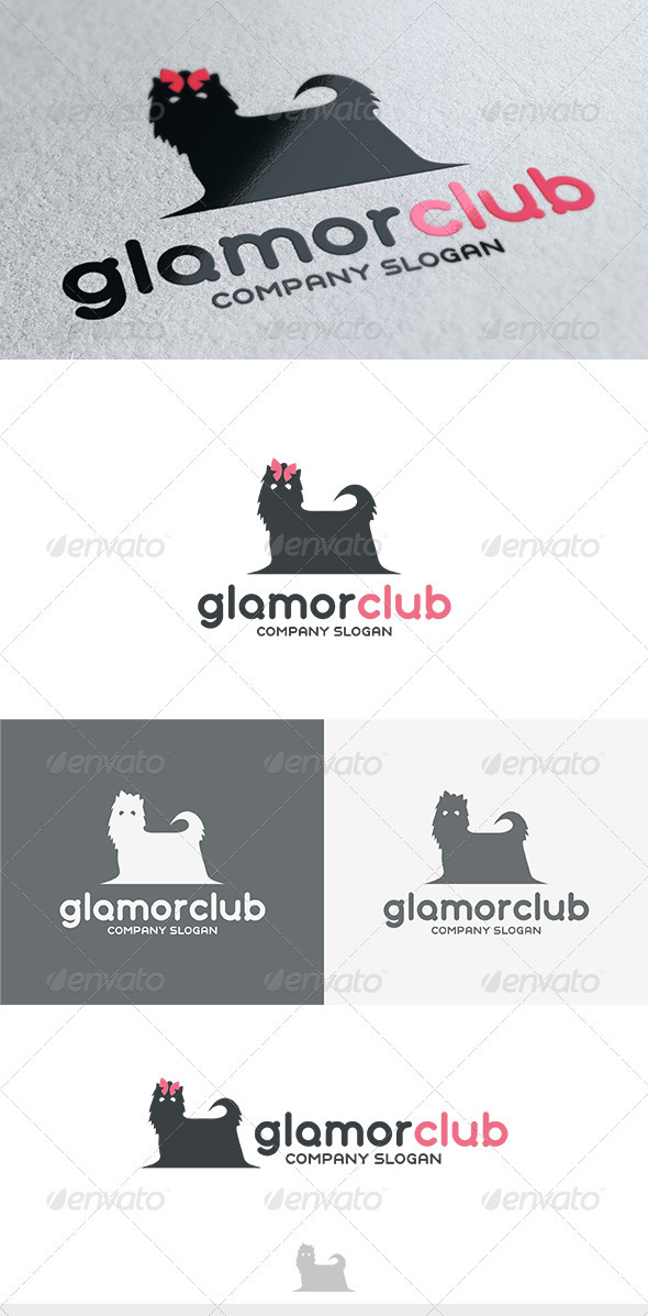 Glamor Club Logo - Animals Logo Templates