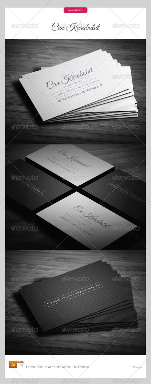 Corporate Business Cards 262 - Corporate Business Cards