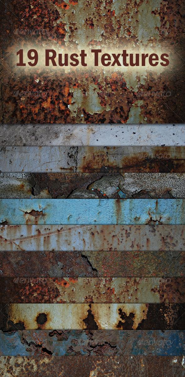 Rust Textures - Industrial / Grunge Textures