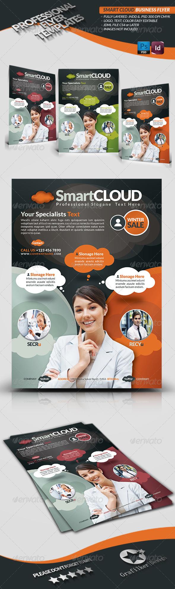 Smart Cloud Business Flyer - Corporate Flyers