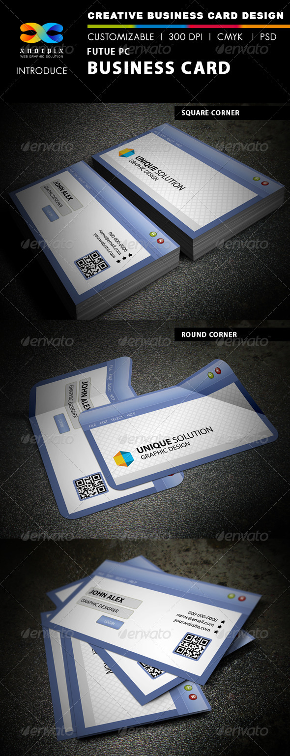 Future PC business Card - Creative Business Cards