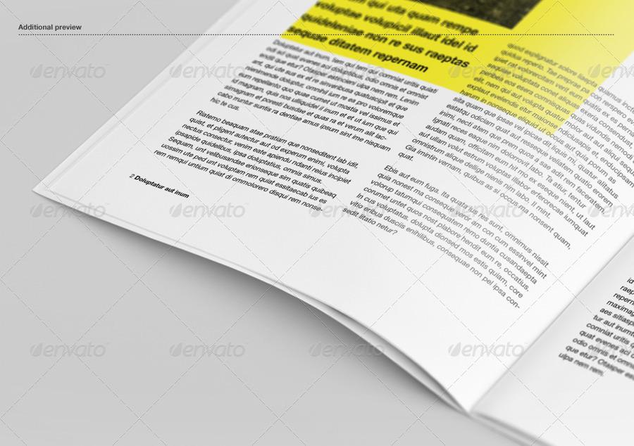 Brochure / Booklet / Catalog Mock-Up