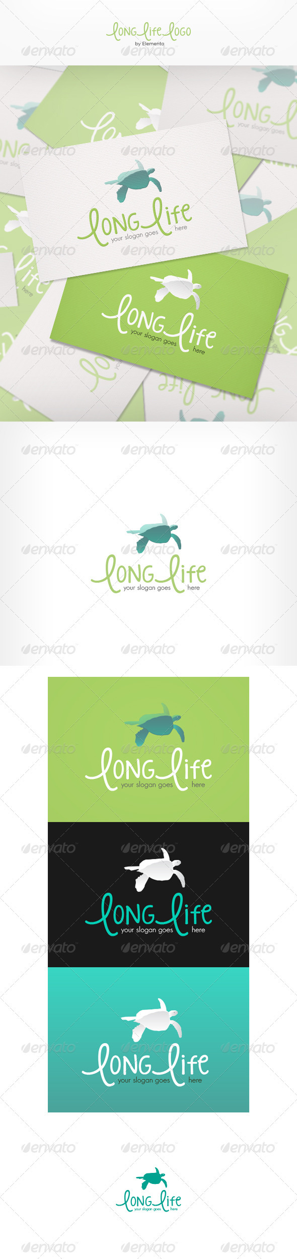 Long Life Logo - Nature Logo Templates