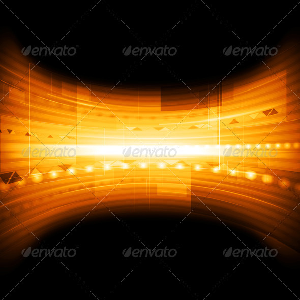 Colourful technical vector background - Backgrounds Decorative