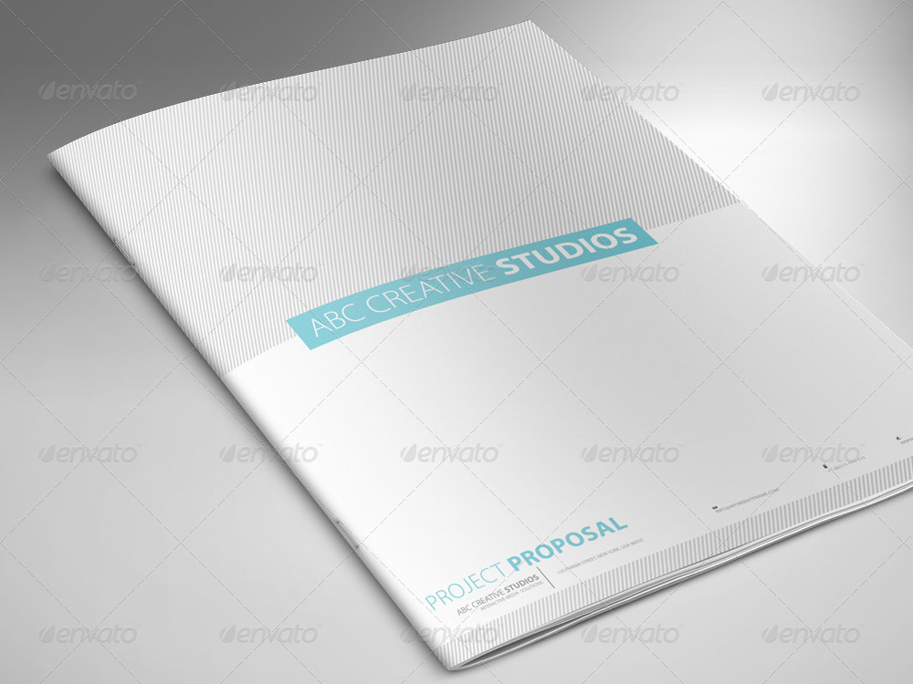 Professional Proposal Template   Proposals U0026 Invoices Stationery ·  Preveiw Set/01_proposal ...  Professional Proposal Templates