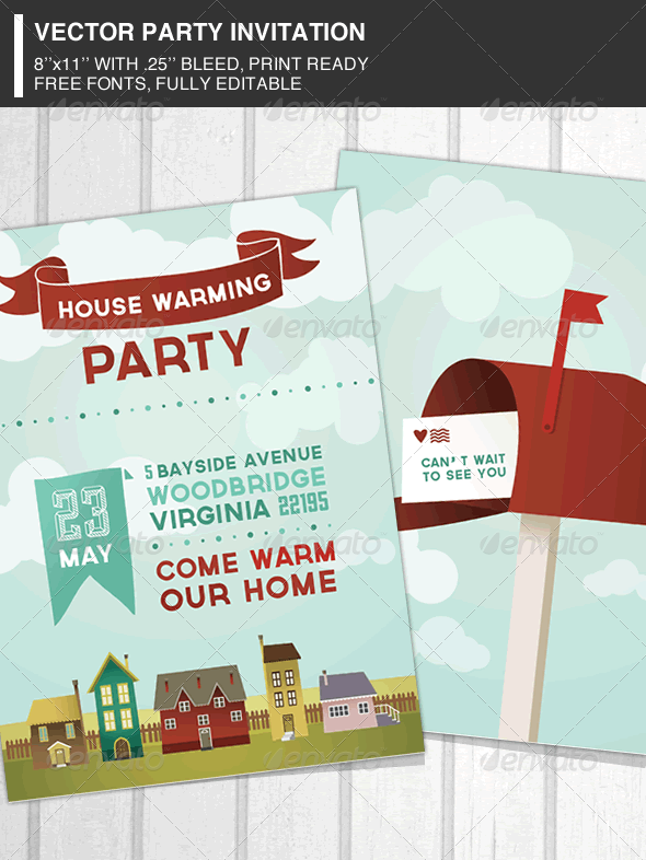 House Warming Party Invitation - Events Flyers