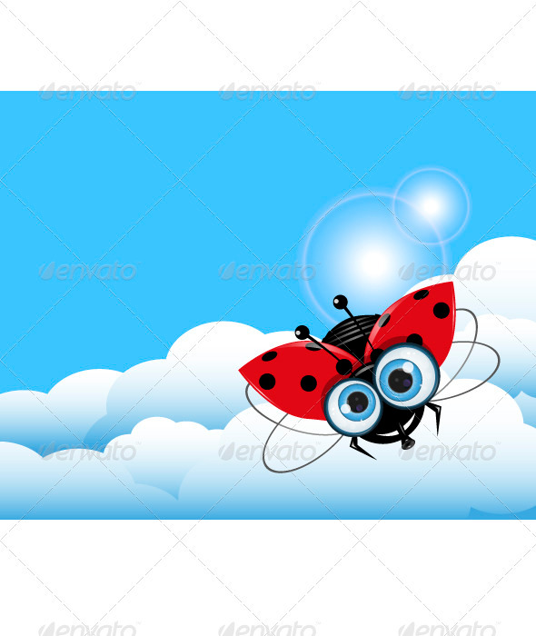 Ladybug in the Sky - Animals Characters