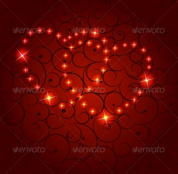 Valentines Day Paper Heart Background - Vector - Valentines Seasons/Holidays