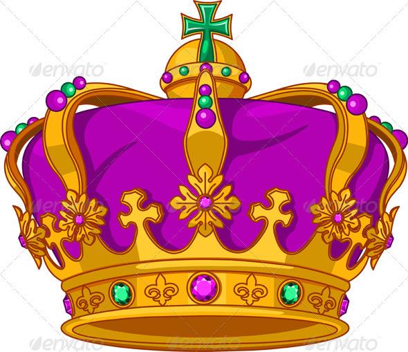 Mardi Gras crown  - Objects Vectors