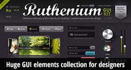 Ruthenium GUI Kit
