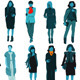 30 Fashionable Woman Silhouette - GraphicRiver Item for Sale