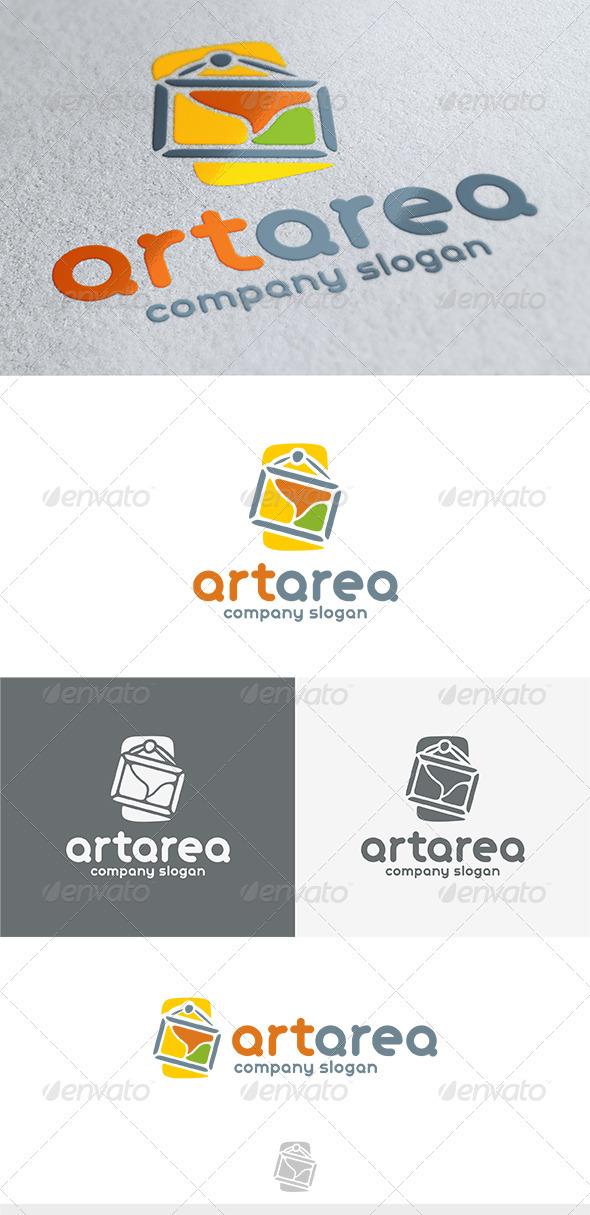 Art Area Logo - Vector Abstract