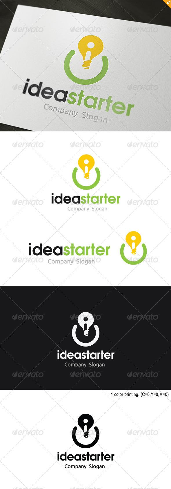 Idea Starter Logo - Objects Logo Templates