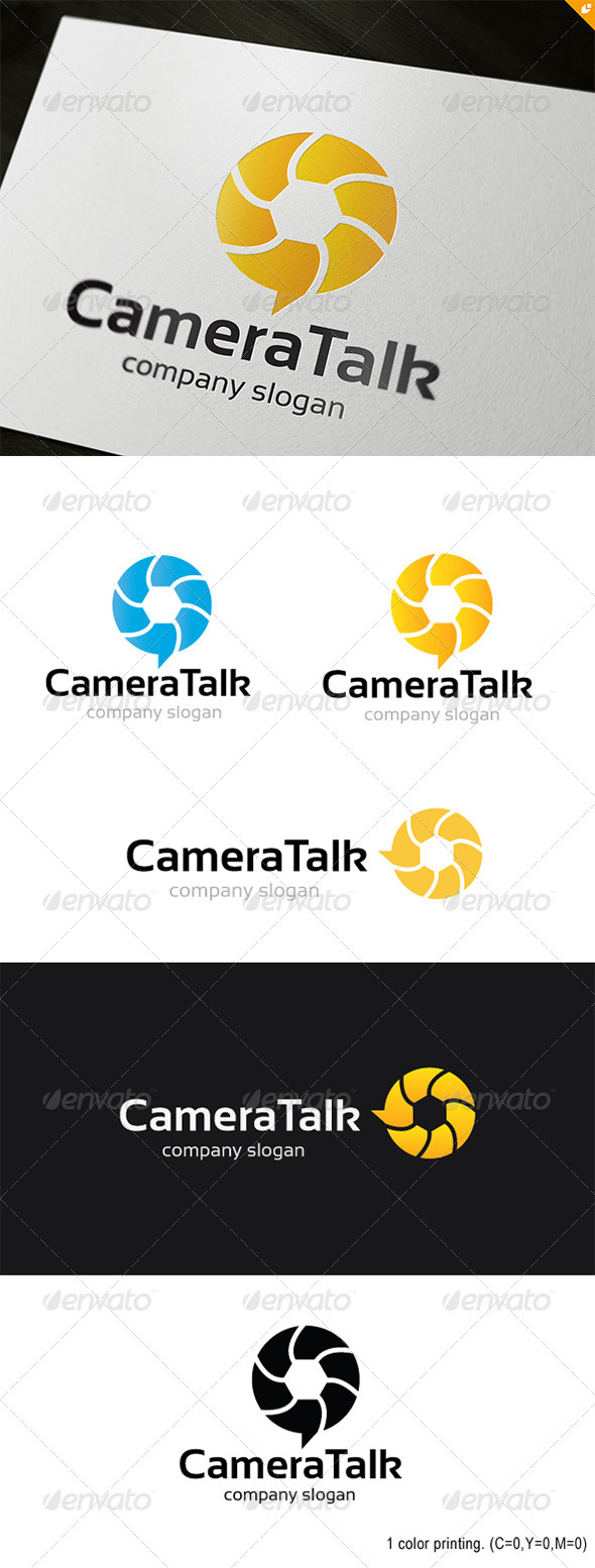 Camera Talk Logo - Objects Logo Templates