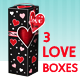 Gift Box: Love on Valentine's Day or Birthday - GraphicRiver Item for Sale