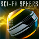 Sci-Fi Glowing Spheres - GraphicRiver Item for Sale