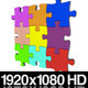 Colorful Jigsaw Puzzle Coming Together - VideoHive Item for Sale