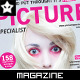 Photography Magazine Front Cover - GraphicRiver Item for Sale