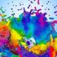 Big Multicolor Paint Splash 4K - VideoHive Item for Sale