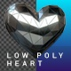 Low Poly Heart - VideoHive Item for Sale