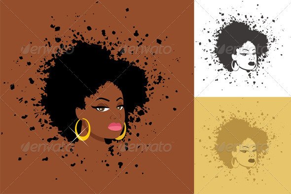 Afro - People Characters