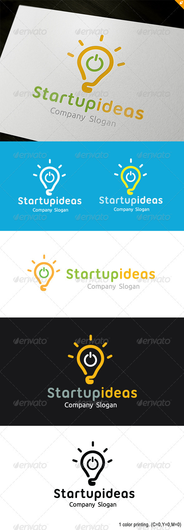 Startup Ideas Logo - Objects Logo Templates
