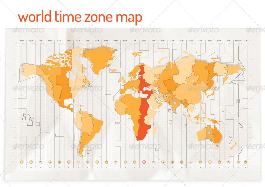 Time zone vector map by restart graphicriver time zone vector map miscellaneous conceptual 01worldtimezonemapg 02worldtimezonemapg gumiabroncs Images