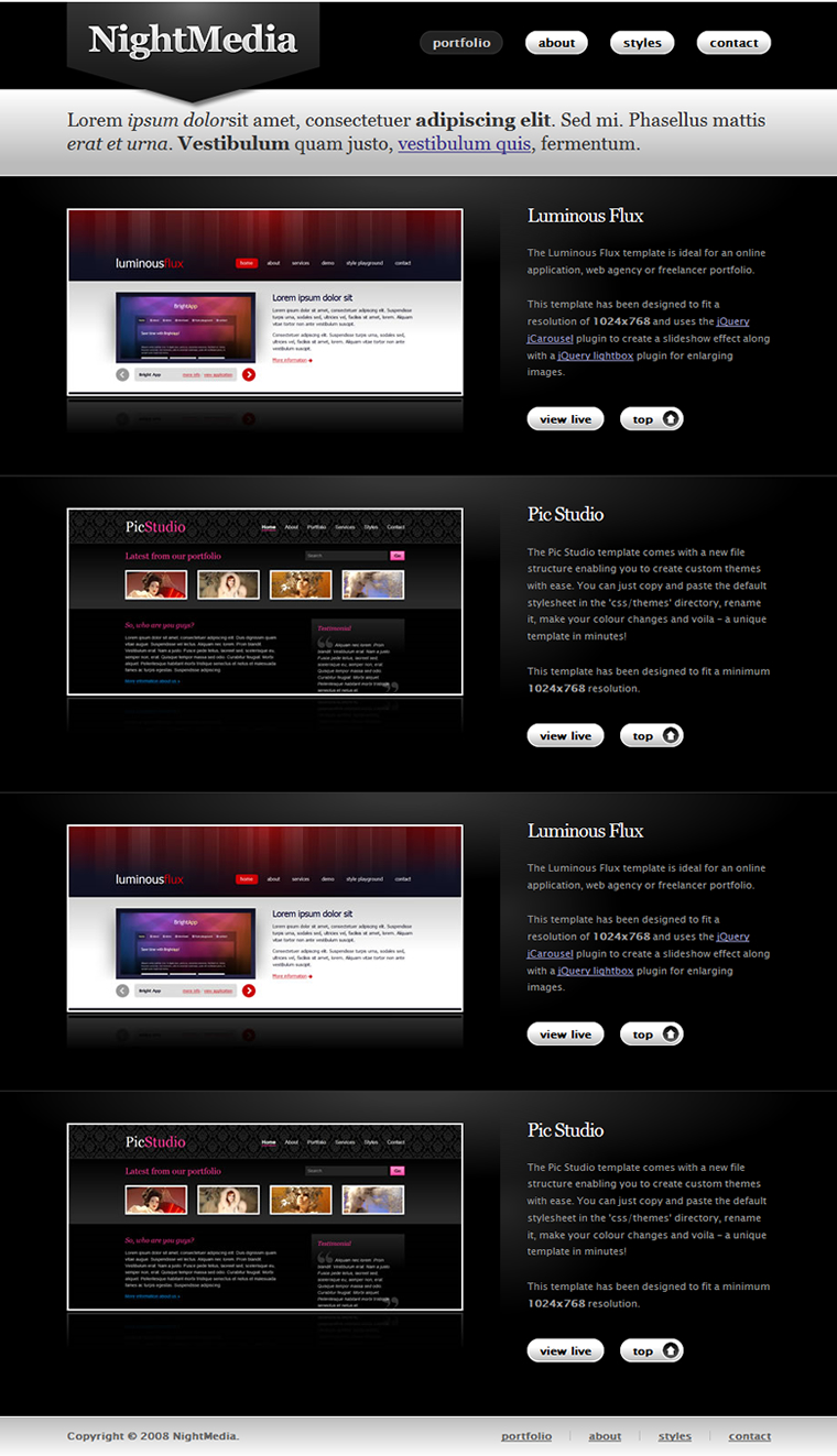 Free Download Night Media Nulled Latest Version