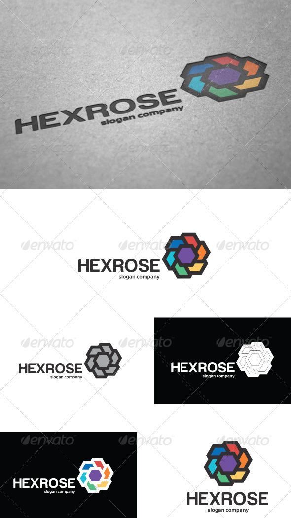 Hexrose Logo - Vector Abstract