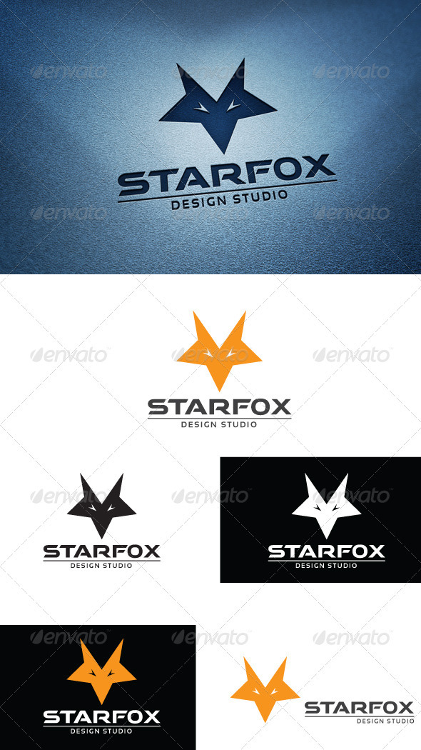 StarFox - Animals Logo Templates