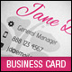 Flower Store Creative Business Card - GraphicRiver Item for Sale