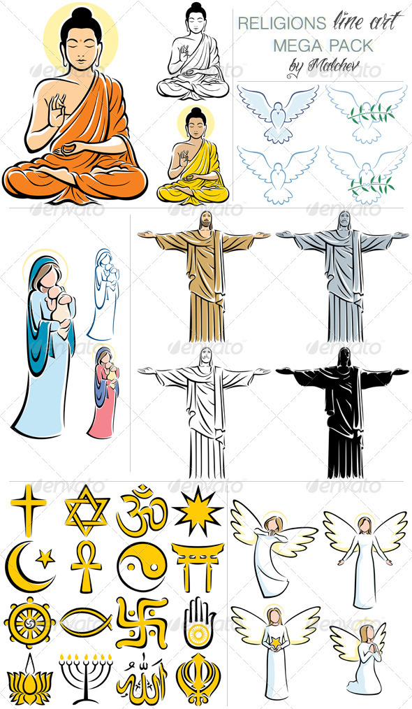 Religions Mega Pack - Religion Conceptual