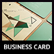 Abstract & Professional Business Card - GraphicRiver Item for Sale