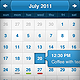 Calendar Widget PSD - GraphicRiver Item for Sale