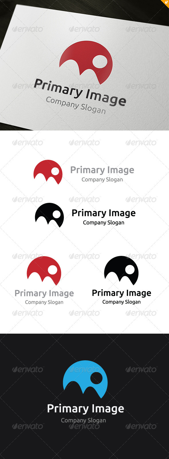 Primary Image Logo - Vector Abstract
