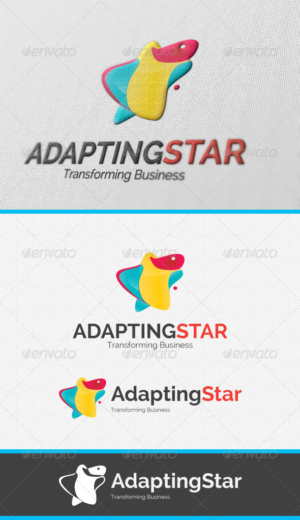 Adapting Star Logo Template - Vector Abstract