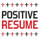 Positive Resume - GraphicRiver Item for Sale