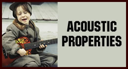 Acoustic Properties