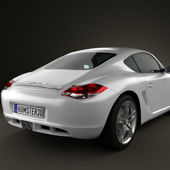 Porsche Cayman S 2011 by humster3d | 3DOcean