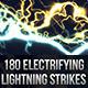 180 Seamless Lightning Strikes - GraphicRiver Item for Sale