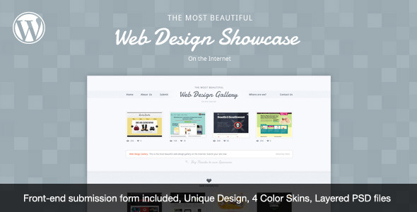 Free Download Web Design Showcase - WordPress Theme Nulled Latest Version