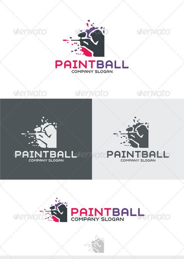 Paintball Logo - Humans Logo Templates